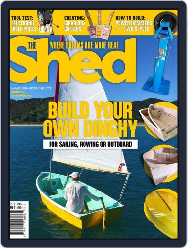 The Shed Magazine (Digital) November 1st, 2021 Issue Cover
