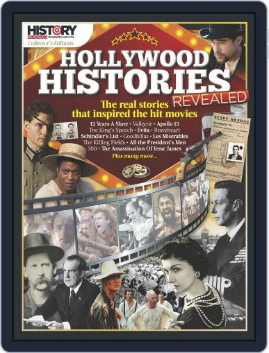 Hollywood Histories Revealed Magazine (Digital) April 1st, 2017 Issue Cover