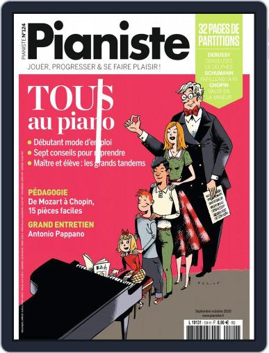Pianiste Magazine (Digital) September 1st, 2020 Issue Cover
