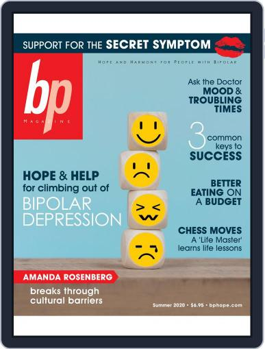 bp Magazine for Bipolar Magazine (Digital) July 1st, 2020 Issue Cover