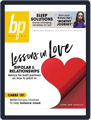 bp Magazine for Bipolar Magazine (Digital) October 1st, 2021 Issue Cover