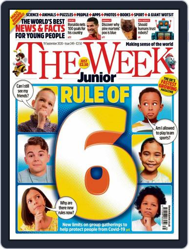 The Week Junior Magazine (Digital) September 19th, 2020 Issue Cover