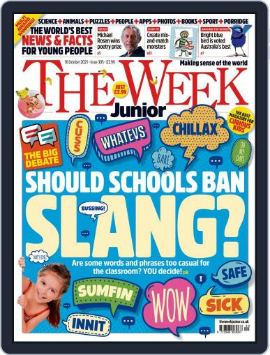 The Week Junior Magazine (Digital) October 16th, 2021 Issue Cover