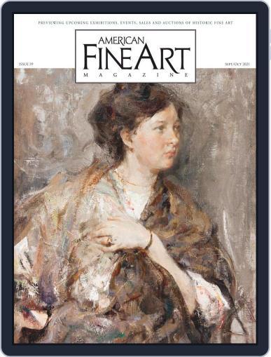 American Fine Art Magazine (Digital) September 1st, 2021 Issue Cover