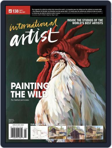 International Artist Magazine (Digital) April 1st, 2021 Issue Cover