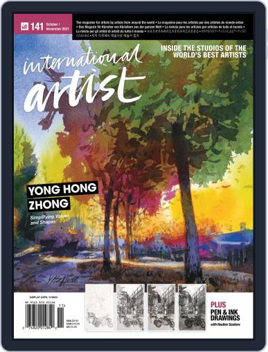International Artist Magazine (Digital) October 1st, 2021 Issue Cover