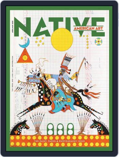 Native American Art Magazine (Digital) April 1st, 2021 Issue Cover