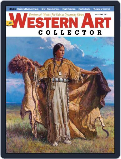 Western Art Collector Magazine (Digital) October 1st, 2021 Issue Cover