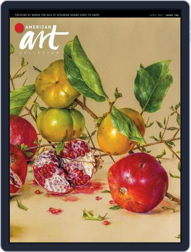 American Art Collector Magazine (Digital) April 1st, 2021 Issue Cover