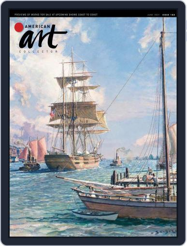 American Art Collector Magazine (Digital) June 1st, 2021 Issue Cover