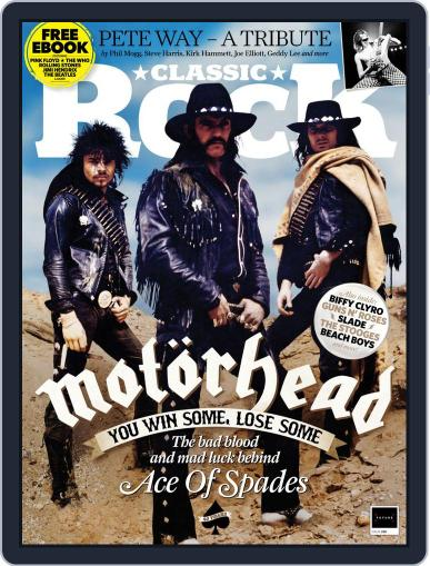 Classic Rock Magazine (Digital) October 1st, 2020 Issue Cover