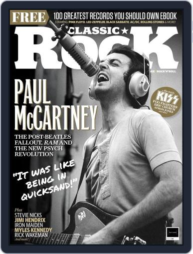 Classic Rock Magazine (Digital) June 1st, 2021 Issue Cover