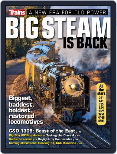 Big Steam is Back Magazine (Digital) May 25th, 2017 Issue Cover