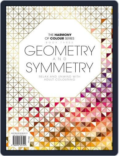 Colouring Book: Geometry and Symmetry Magazine (Digital) June 1st, 2017 Issue Cover