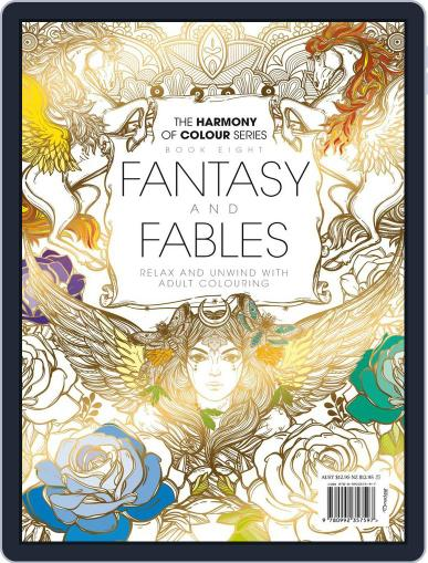 Colouring Book: Fantasy and Fables Magazine (Digital) June 1st, 2017 Issue Cover