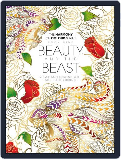 Colouring Book: Beauty and the Beast June 1st, 2017 Digital Back Issue Cover