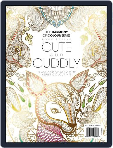 Colouring Book: Cute and Cuddly Magazine (Digital) June 1st, 2017 Issue Cover