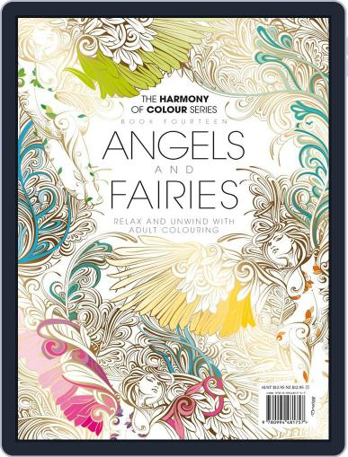 Colouring Book: Angels and Fairies Magazine (Digital) June 1st, 2017 Issue Cover