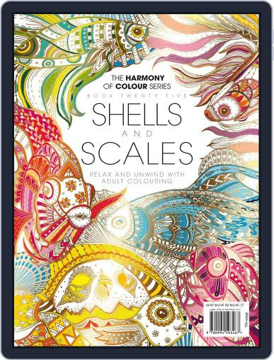 Colouring Book: Shells and Scales Magazine (Digital) June 1st, 2017 Issue Cover