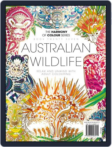 Colouring Book: Australian Wildlife June 1st, 2017 Digital Back Issue Cover