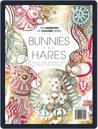 Colouring Book: Bunnies and Hares Magazine (Digital) June 1st, 2017 Issue Cover