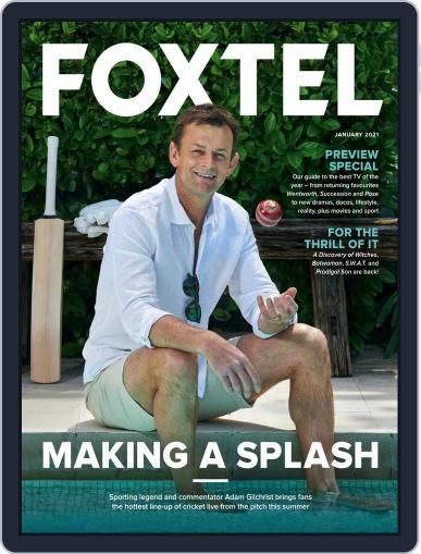 Foxtel Magazine (Digital) January 1st, 2021 Issue Cover