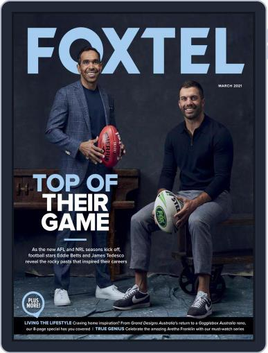 Foxtel Magazine (Digital) March 1st, 2021 Issue Cover