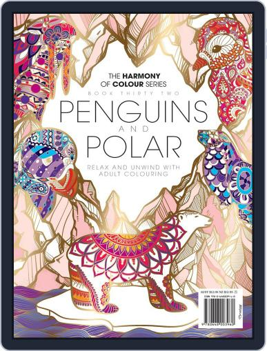 Colouring Book: Penguins and Polar Magazine (Digital) June 29th, 2017 Issue Cover