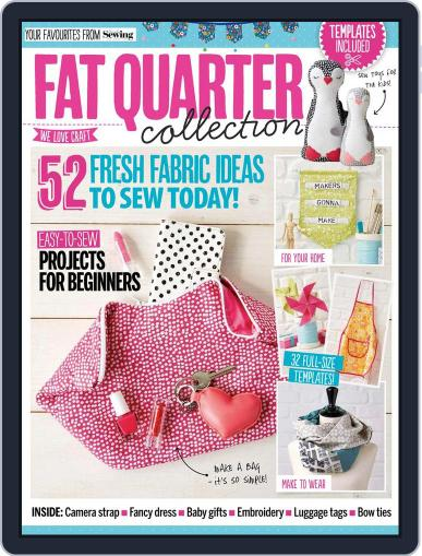 Fat Quarter Collection July 21st, 2017 Digital Back Issue Cover