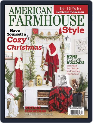 American Farmhouse Style Magazine (Digital) December 1st, 2020 Issue Cover