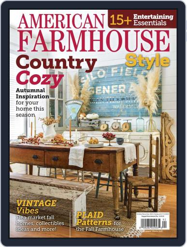 American Farmhouse Style Magazine (Digital) October 1st, 2020 Issue Cover