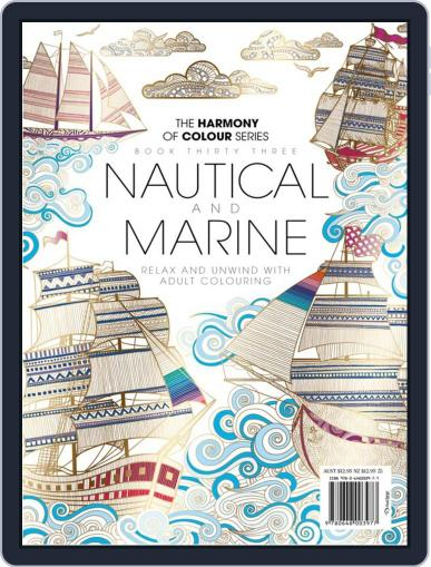 Colouring Book: Nautical and Marine July 26th, 2017 Digital Back Issue Cover
