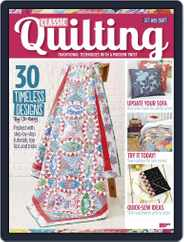 Classic Quilting Magazine (Digital) Subscription July 6th, 2017 Issue