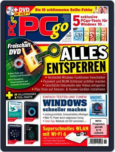 PCgo Magazine (Digital) November 1st, 2020 Issue Cover