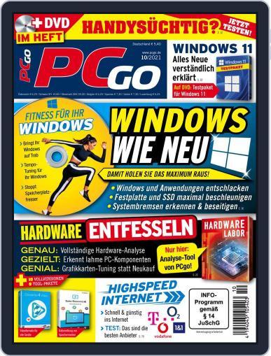 PCgo Magazine (Digital) October 1st, 2021 Issue Cover