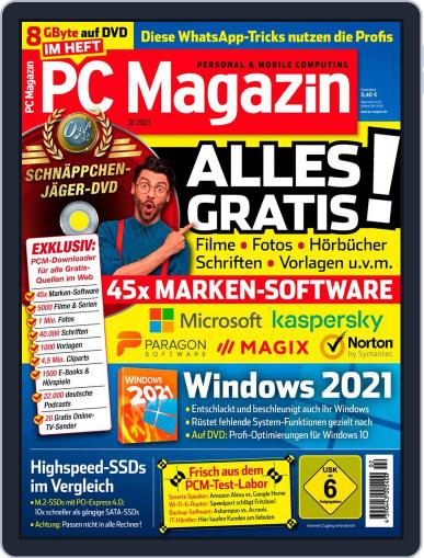 PC Magazin Magazine (Digital) February 1st, 2021 Issue Cover