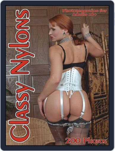 Classy Nylons Adult Photo Magazine (Digital) February 12th, 2021 Issue Cover