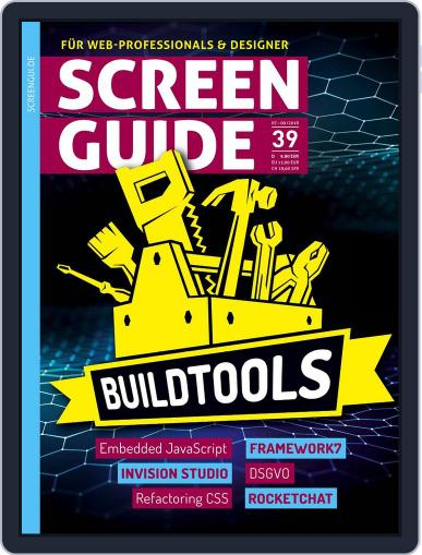 SCREENGUIDE (Digital) July 1st, 2018 Issue Cover