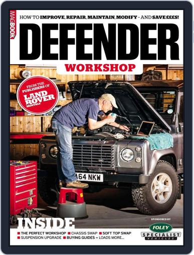 Land Rover Defender Workshop Magazine (Digital) August 17th, 2017 Issue Cover