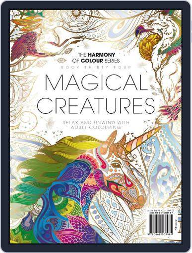 Colouring Book: Magical Creatures Magazine (Digital) August 28th, 2017 Issue Cover
