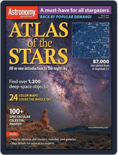 Atlas of the Stars: New Edition October 6th, 2017 Digital Back Issue Cover