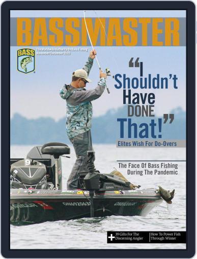 Bassmaster Magazine (Digital) November 1st, 2020 Issue Cover