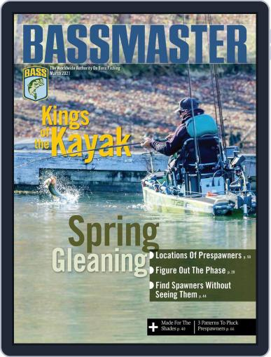 Bassmaster Magazine (Digital) March 1st, 2021 Issue Cover