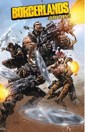 Borderlands: Origins June 1st, 2013 Digital Back Issue Cover