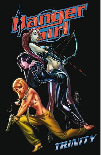 Danger Girl: Trinity November 1st, 2013 Digital Back Issue Cover