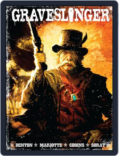 Graveslinger December 1st, 2012 Digital Back Issue Cover