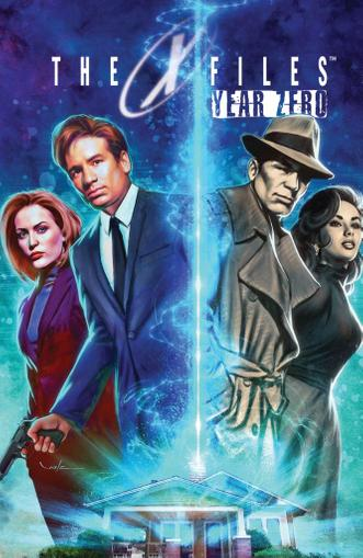 The X-Files: Year Zero March 1st, 2015 Digital Back Issue Cover