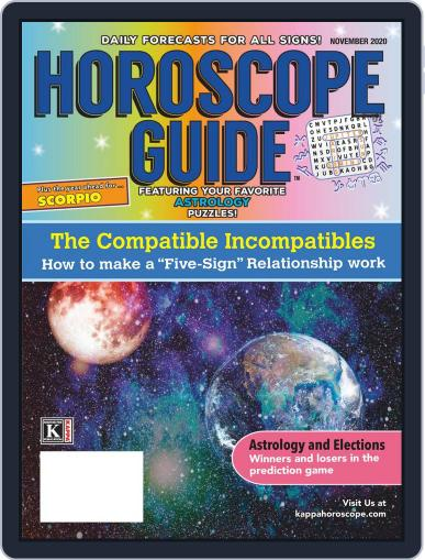 Horoscope Guide Magazine (Digital) November 1st, 2020 Issue Cover