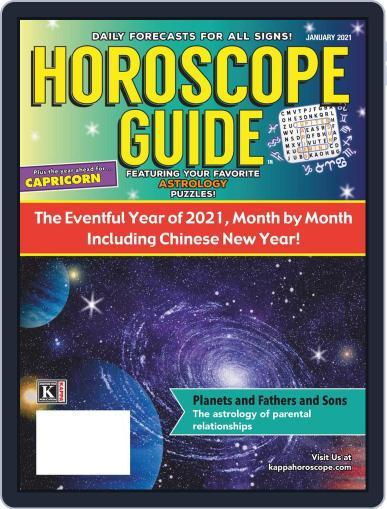 Horoscope Guide Magazine (Digital) January 1st, 2021 Issue Cover