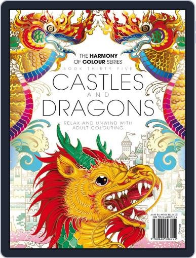 Colouring Book: Castles and Dragons Magazine (Digital) September 21st, 2017 Issue Cover